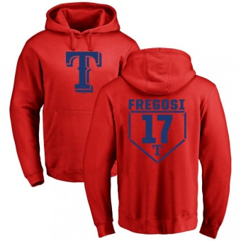 Jim Fregosi Youth Texas Rangers Red RBI Pullover Hoodie -
